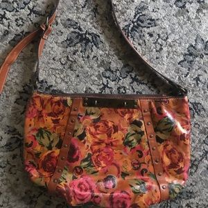 Vintage Patricia Nash  Floral Bucciano Hobo Exl 😍